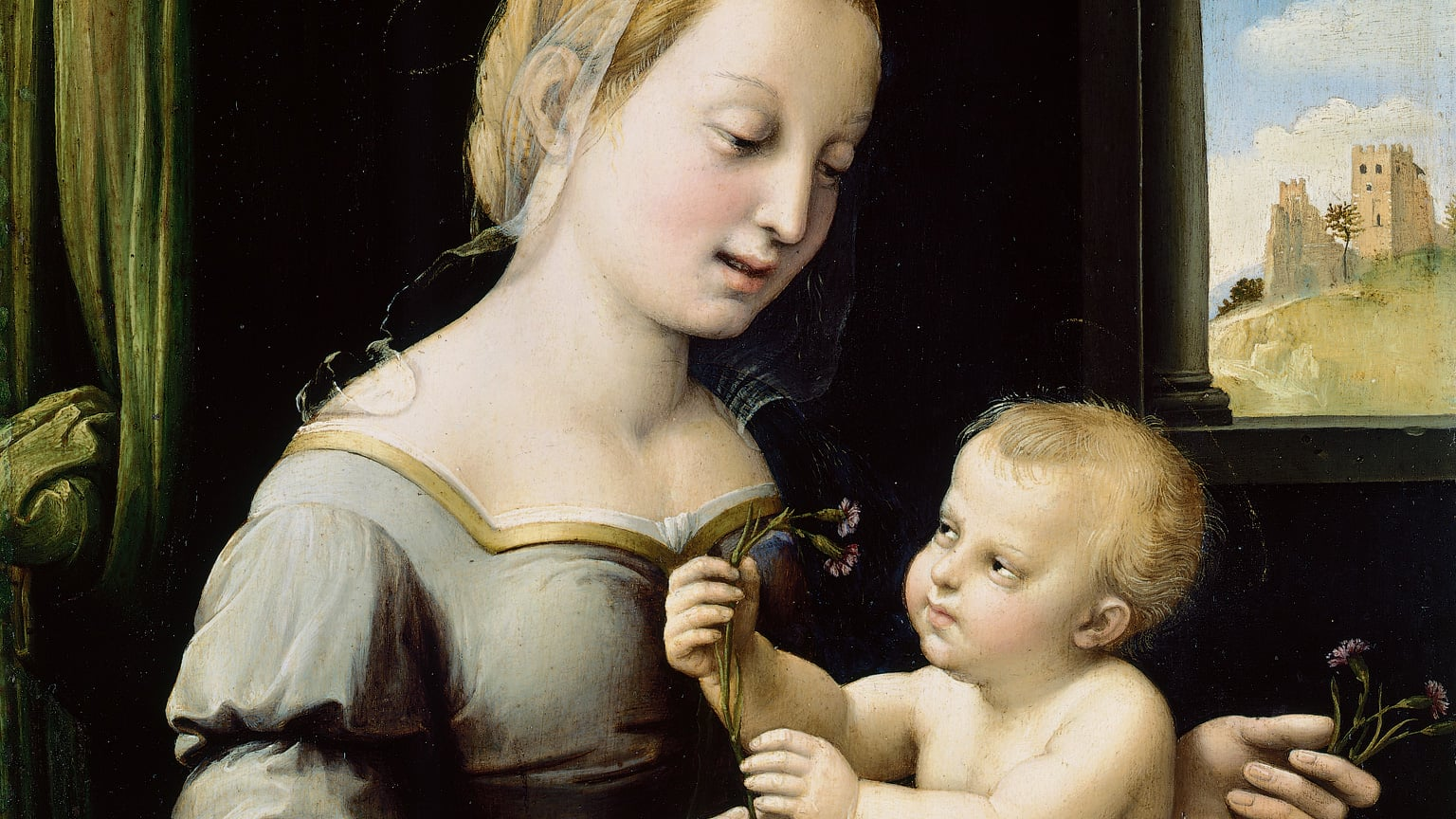 The National Gallery buys Raphael's Madonna of the Pinks with help from the Art Fund