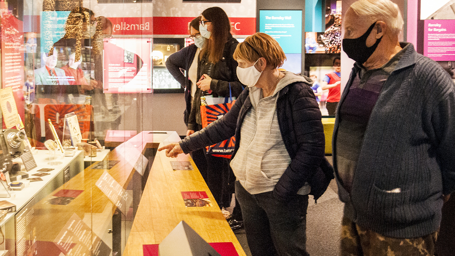 Visitors enjoy Experience Barnsley, one of the five finalists for Art Fund Museum of the Year 2021