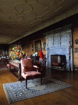 Panelled wood at Breamore
