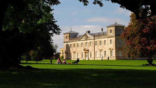 Lydiard House and Park has many lawns to picnic on