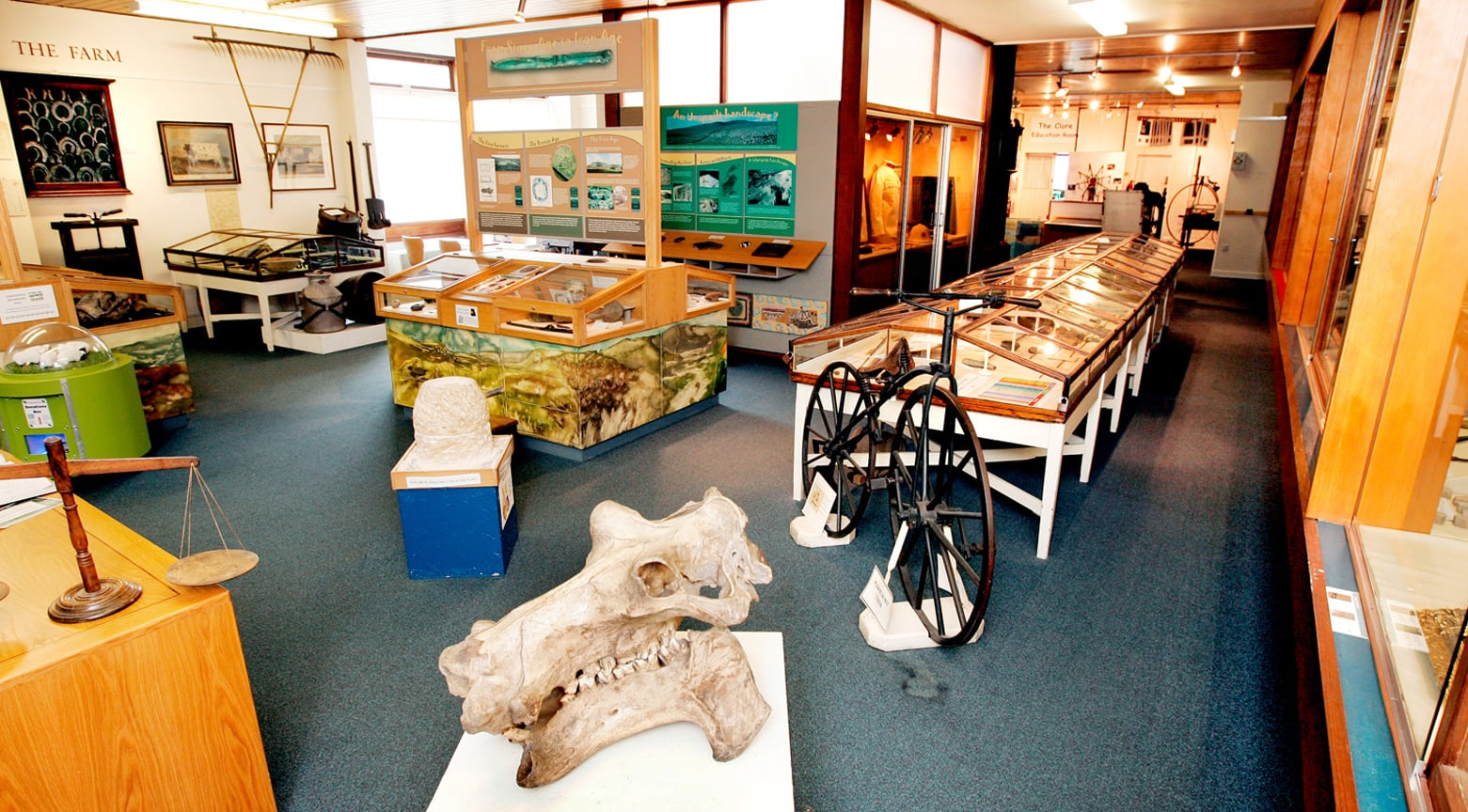 Inside Craven Museum and Gallery