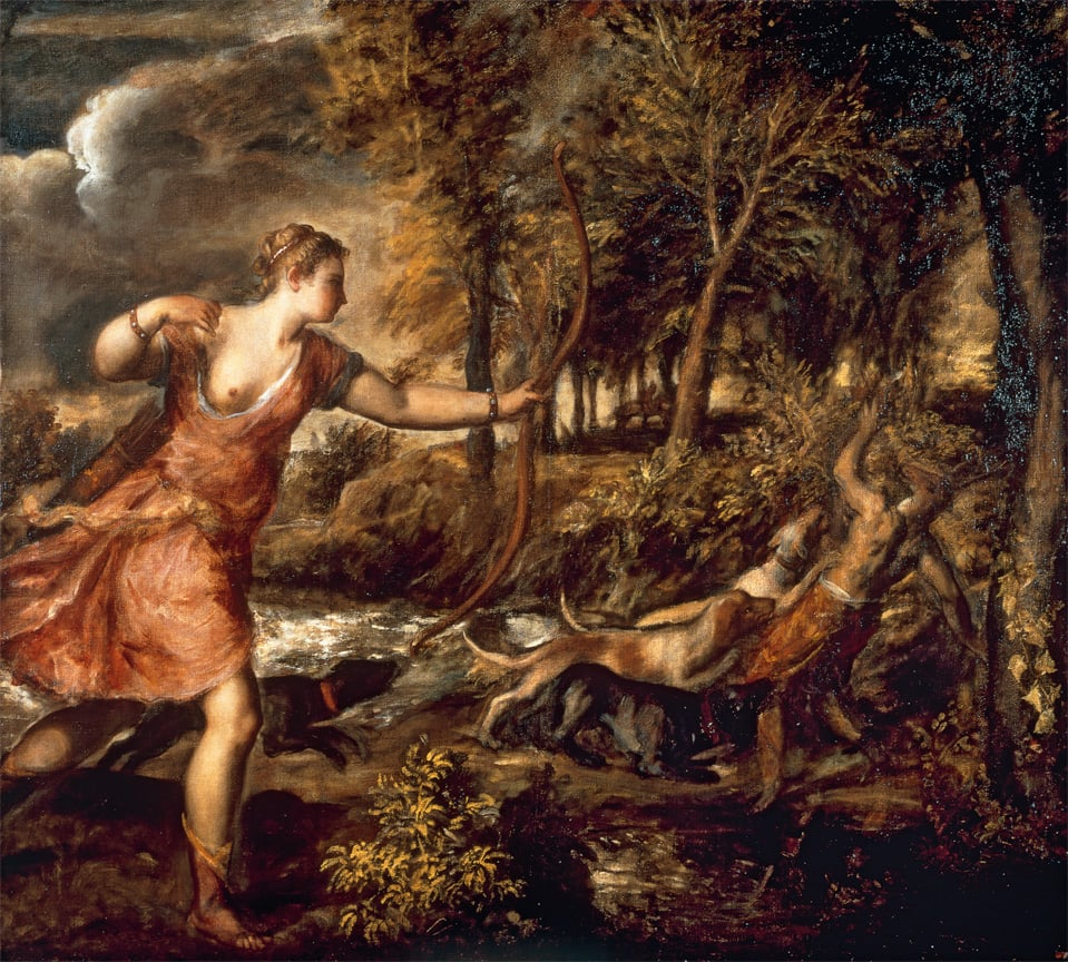 Titian, The Death of Actaeon, 1559