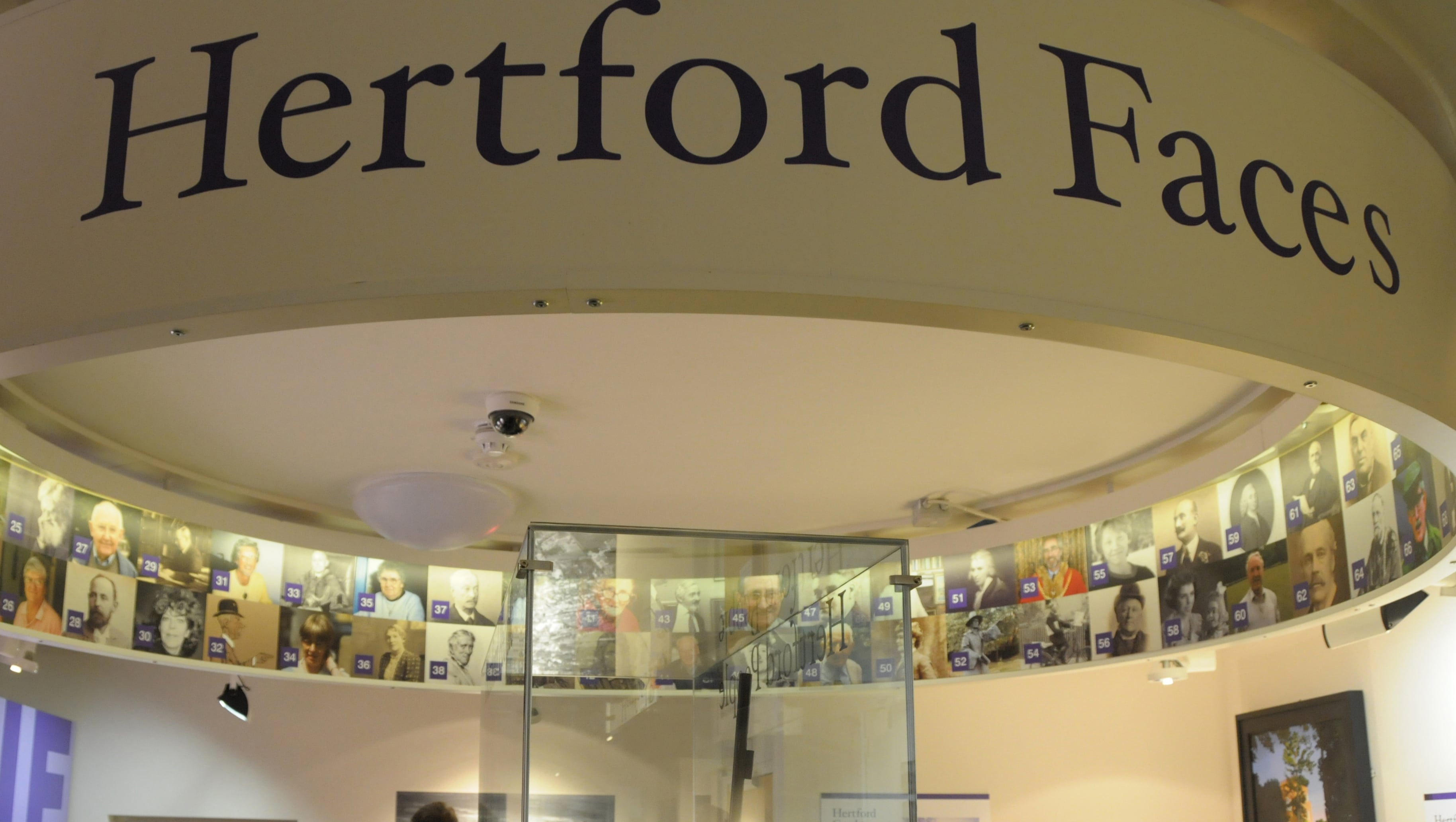 The 'Hertford Faces' exhibition