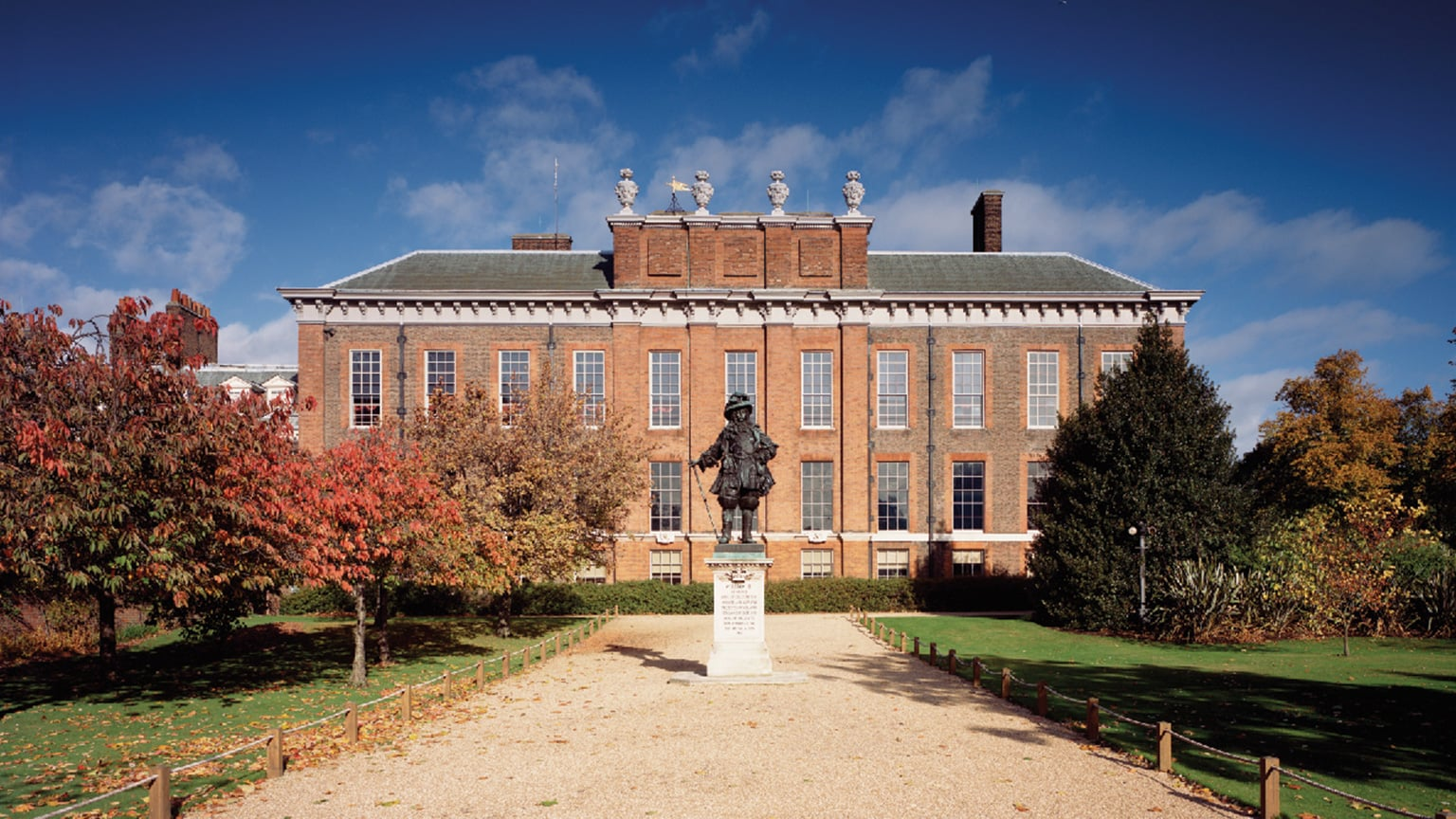 Exterior Of Kensington Palace