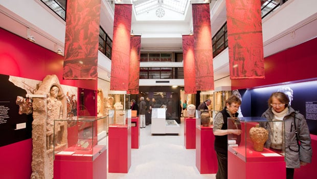 The new Roman Galleries, Yorkshire Museum