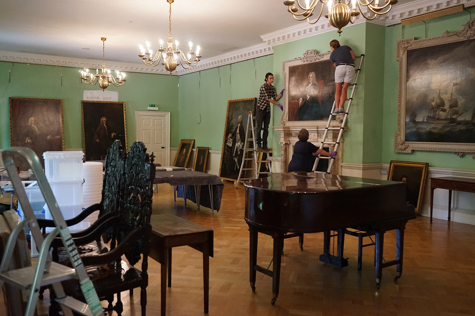 Installation of Ladies of Quality & Distinction - The Foundling Museum