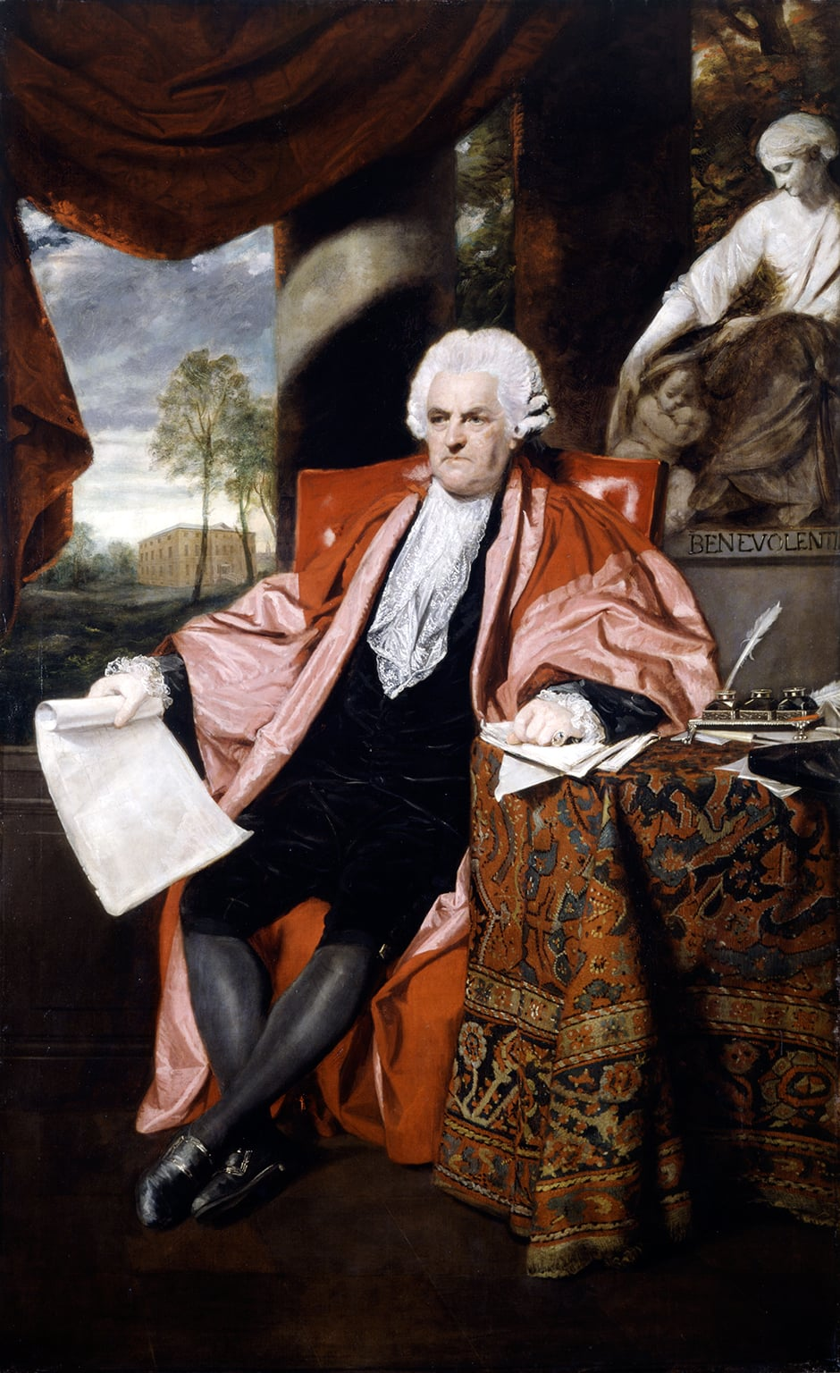 Sir Joshua Reynolds, Portrait of Dr John Ash, 1788 - Acquired with assistance from the Wolfson Foundation in 2012