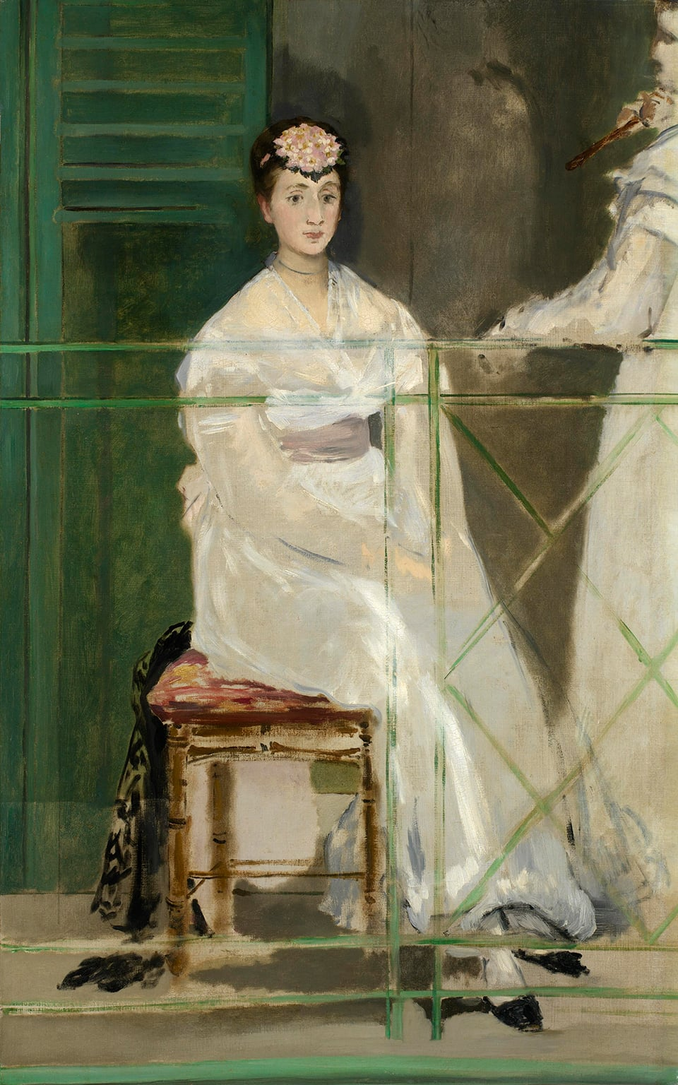 Edouard Manet, Portrait of Mademoiselle Claus, 1868 - Acquired with assistance from the Wolfson Foundation in 2012