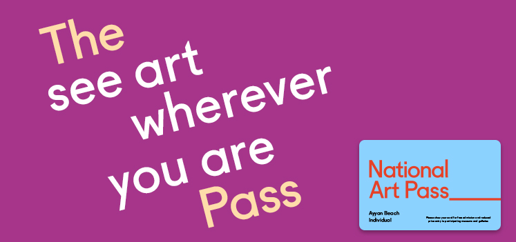 National Art Pass - 50% of entry to major exhibitions