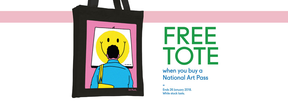 Free tote with all new National Art Pass orders