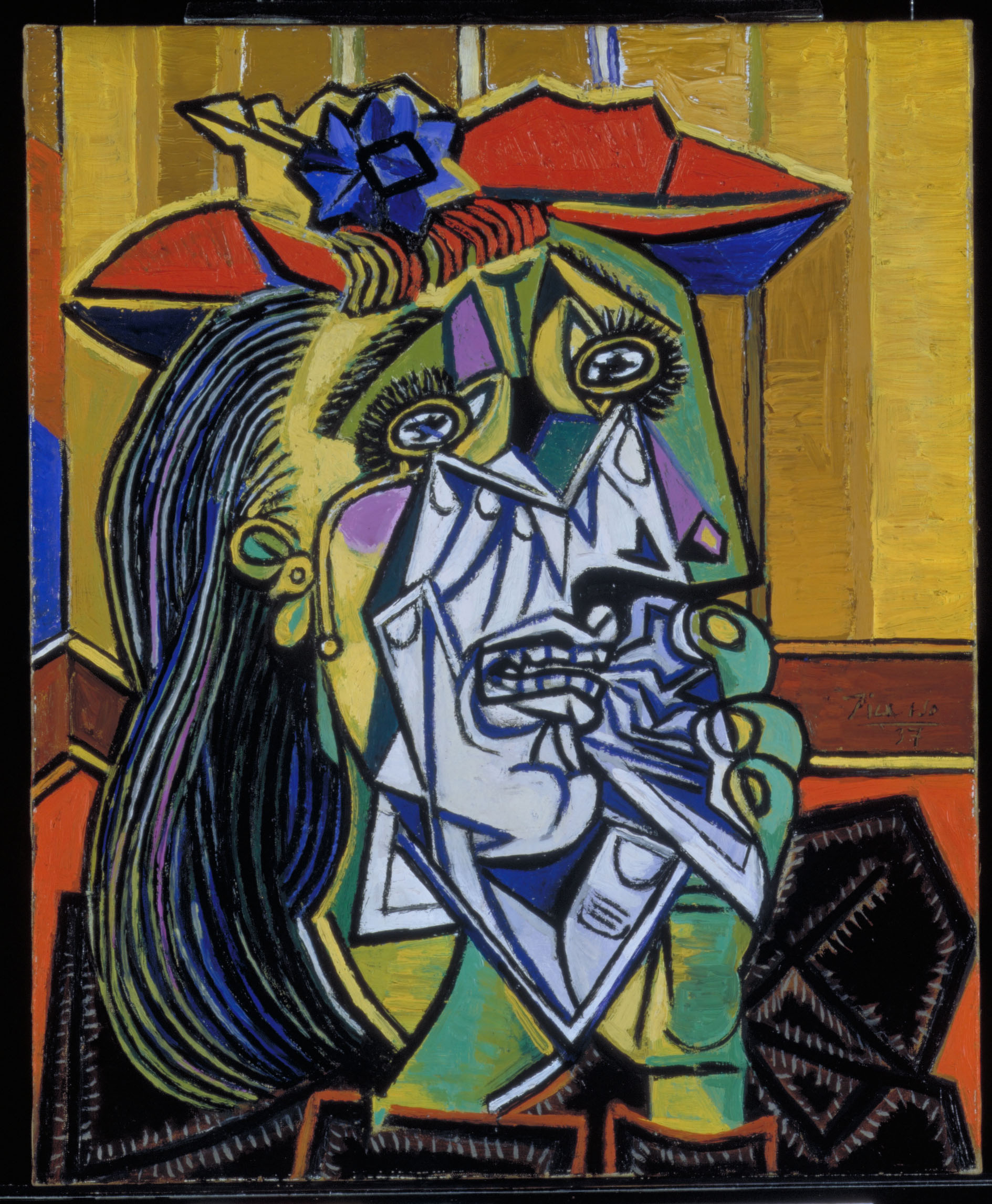 Pablo Picasso, Weeping Woman, 1937, Art Funded 1988 - © Succession Picasso, DACS 2016