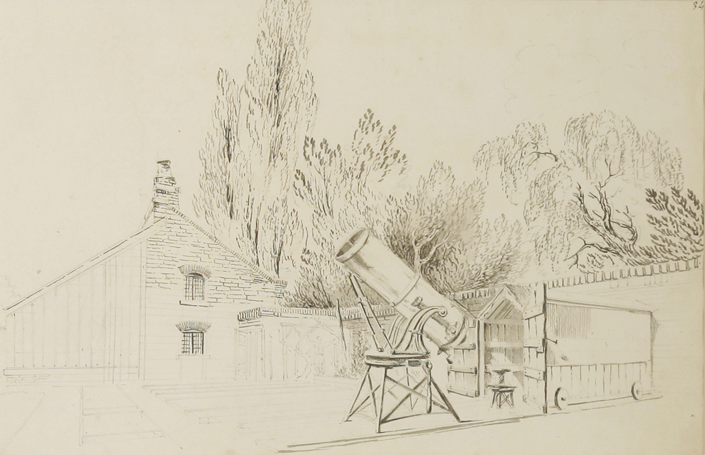 'A Telescope in the Garden at North Mymms'