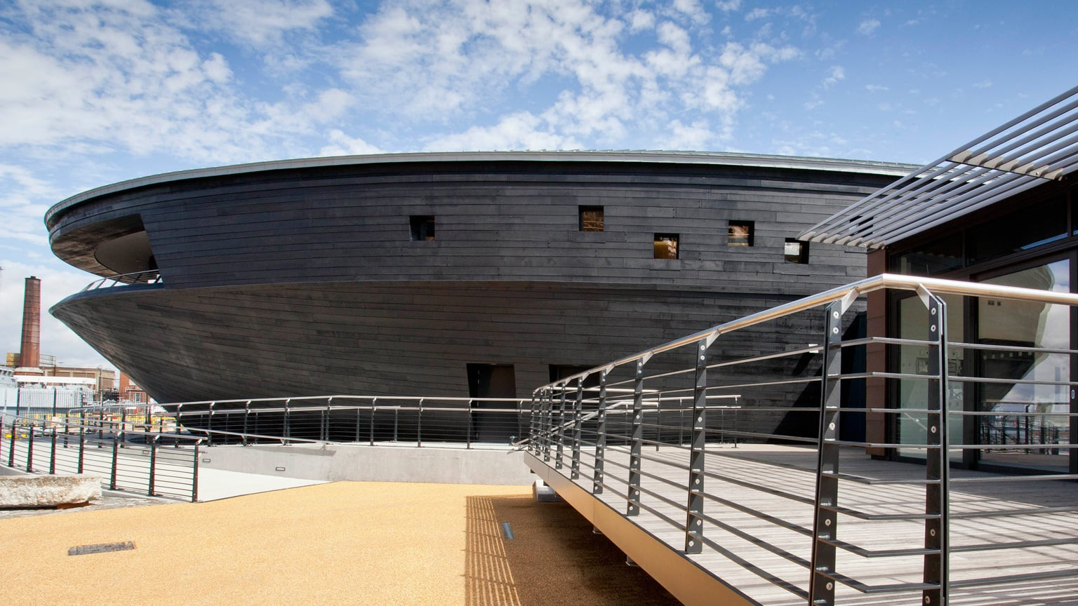 1. Portsmouth Historic Dockyard, Hampshire - 50% off entry with National Art Pass