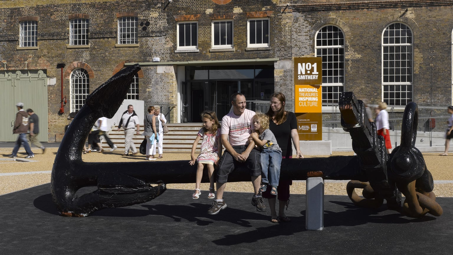 2. The Historic Dockyard Chatham, Kent - Free entry and exhibitions with National Art Pass