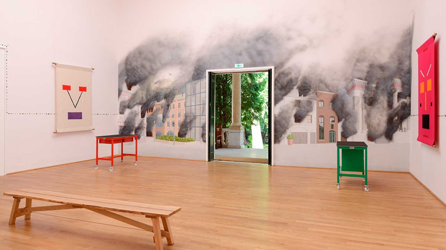 A Good Day for Cyclists, Jeremy Deller, 2013
