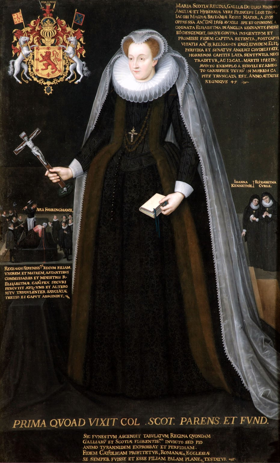3. Mary Queen of Scots, National Museum of Scotland - Flemish School, Blairs Memorial Portrait of Mary, Queen of Scots, c.1600