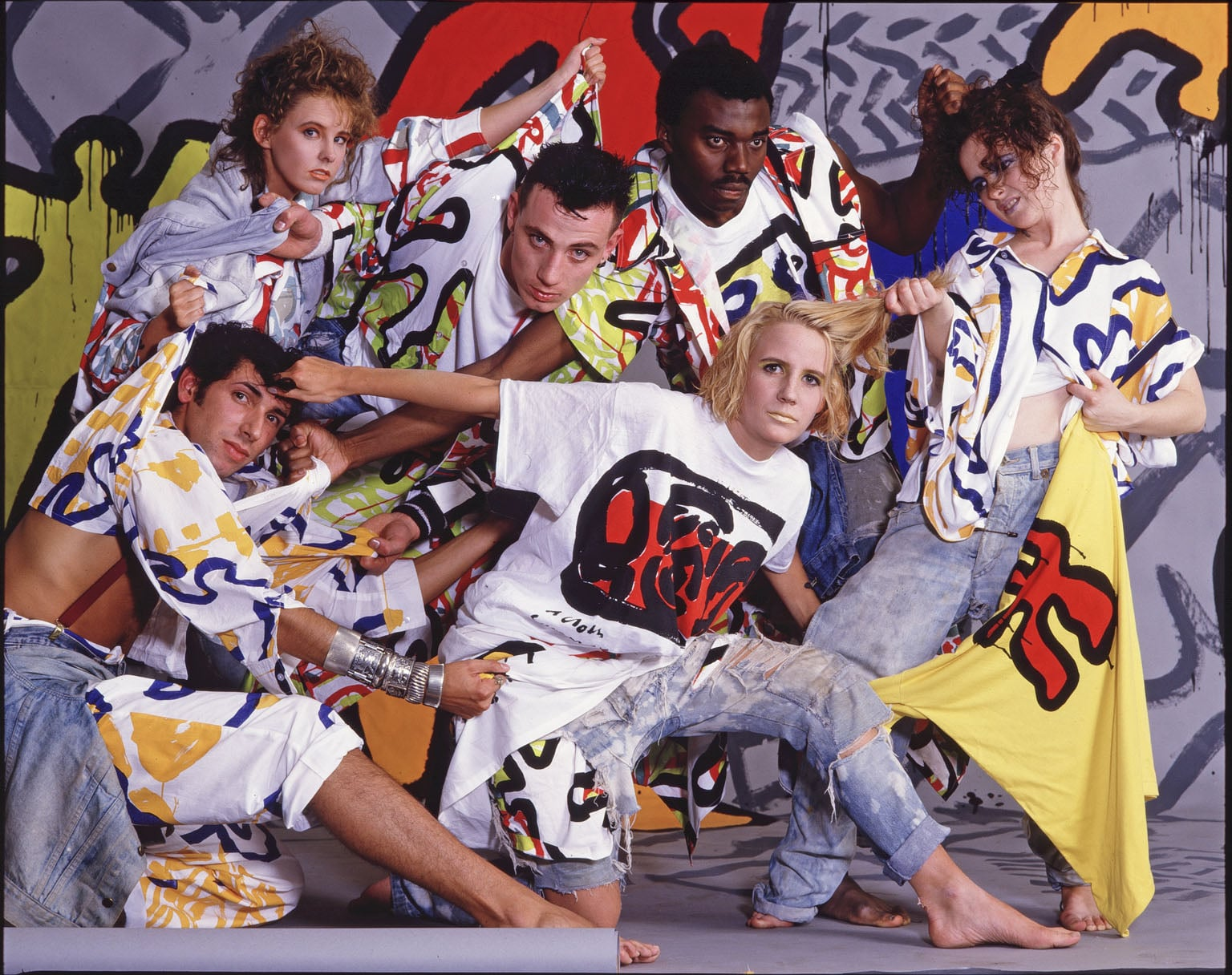 5. Club to Catwalk: London fashion in the 1980s, V - The Cloth, Summer Summit, 1985