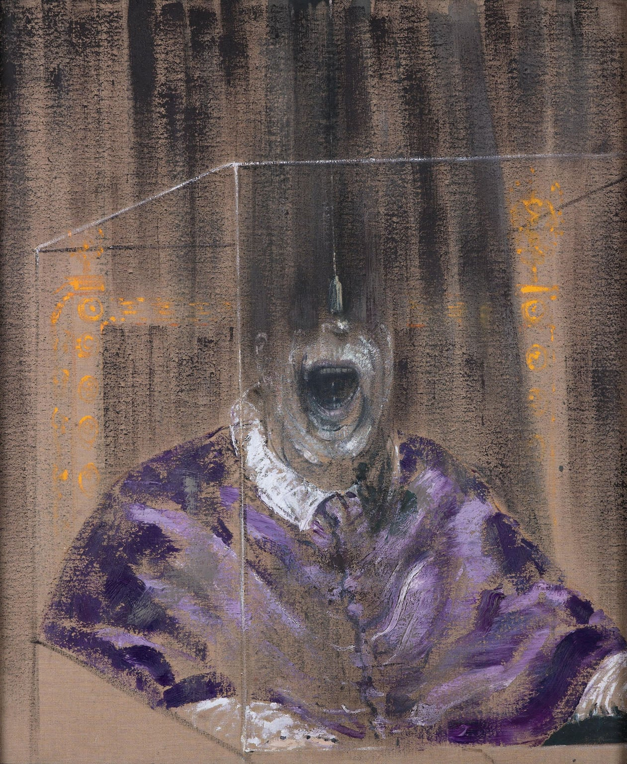 3. Francis Bacon, Head VI, 1949 - Arts Council Collection (on loan to Manchester Art Gallery)