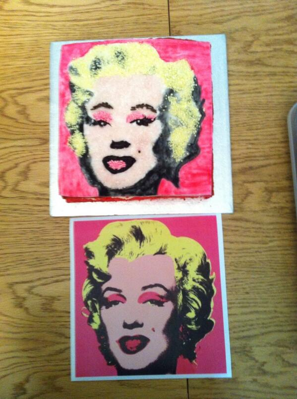 Inspired by Andy Warhol @Castle_Art -