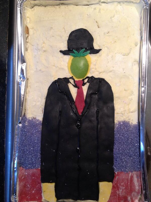Inspired by René Magritte @cj78 -