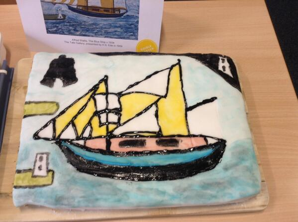 Inspired by Alfred Wallis @hlfeoe -