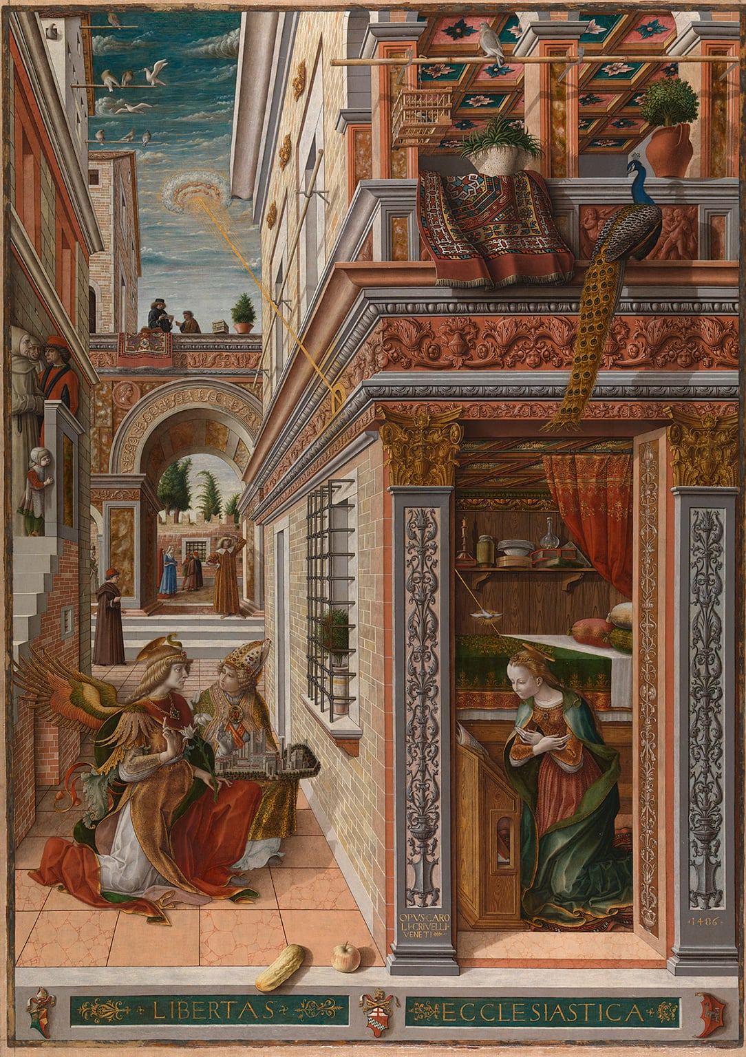 3. Building the Picture: Architecture in Italian Renaissance Painting - 30 April to 21 September 2014, National Gallery, London