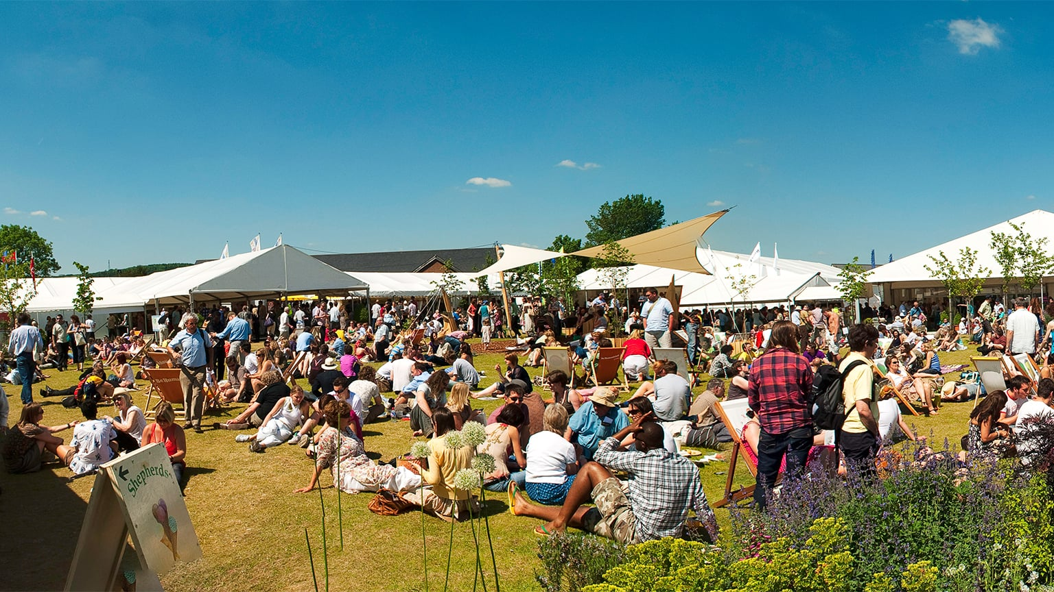 1. Hay Festival of Literature and the Arts - 22 May – 1 June 2014