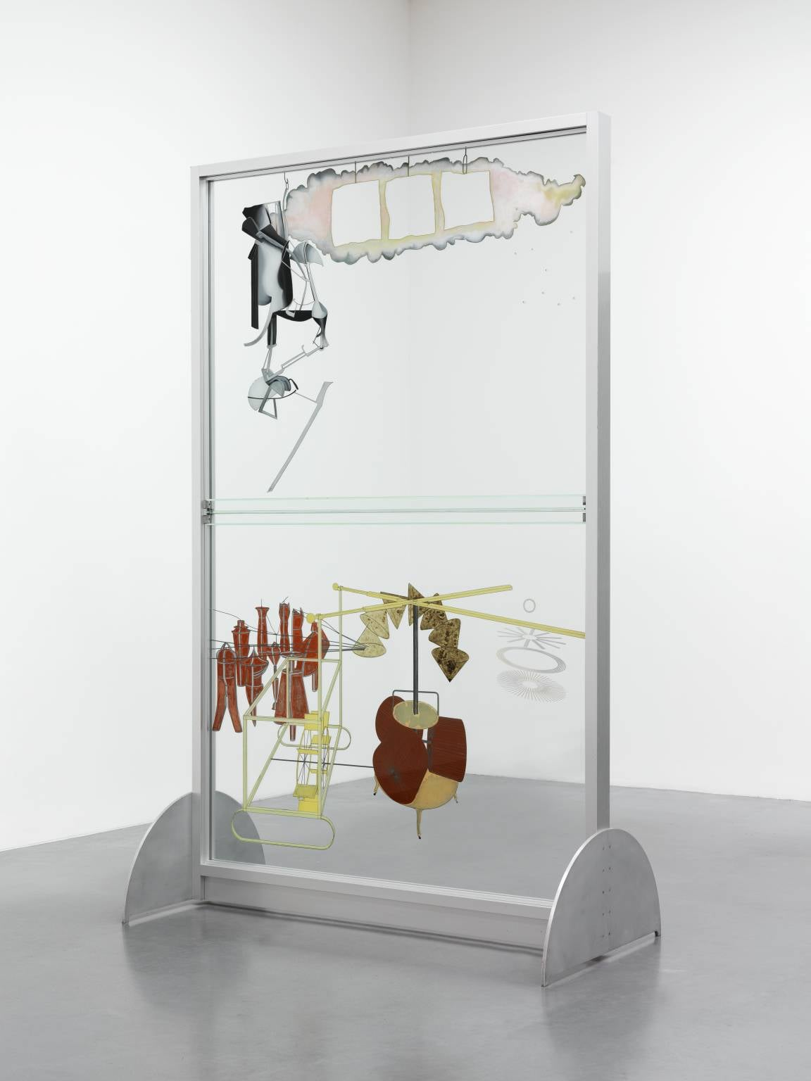 6. Marcel Duchamp (1887–1968) - The Bride Stripped Bare by her Bachelors, Even (The Large Glass), 1915–23, Tate Modern, London