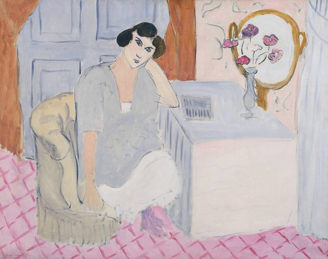 5. The Inattentive Reader, 1919 - Tate Liverpool