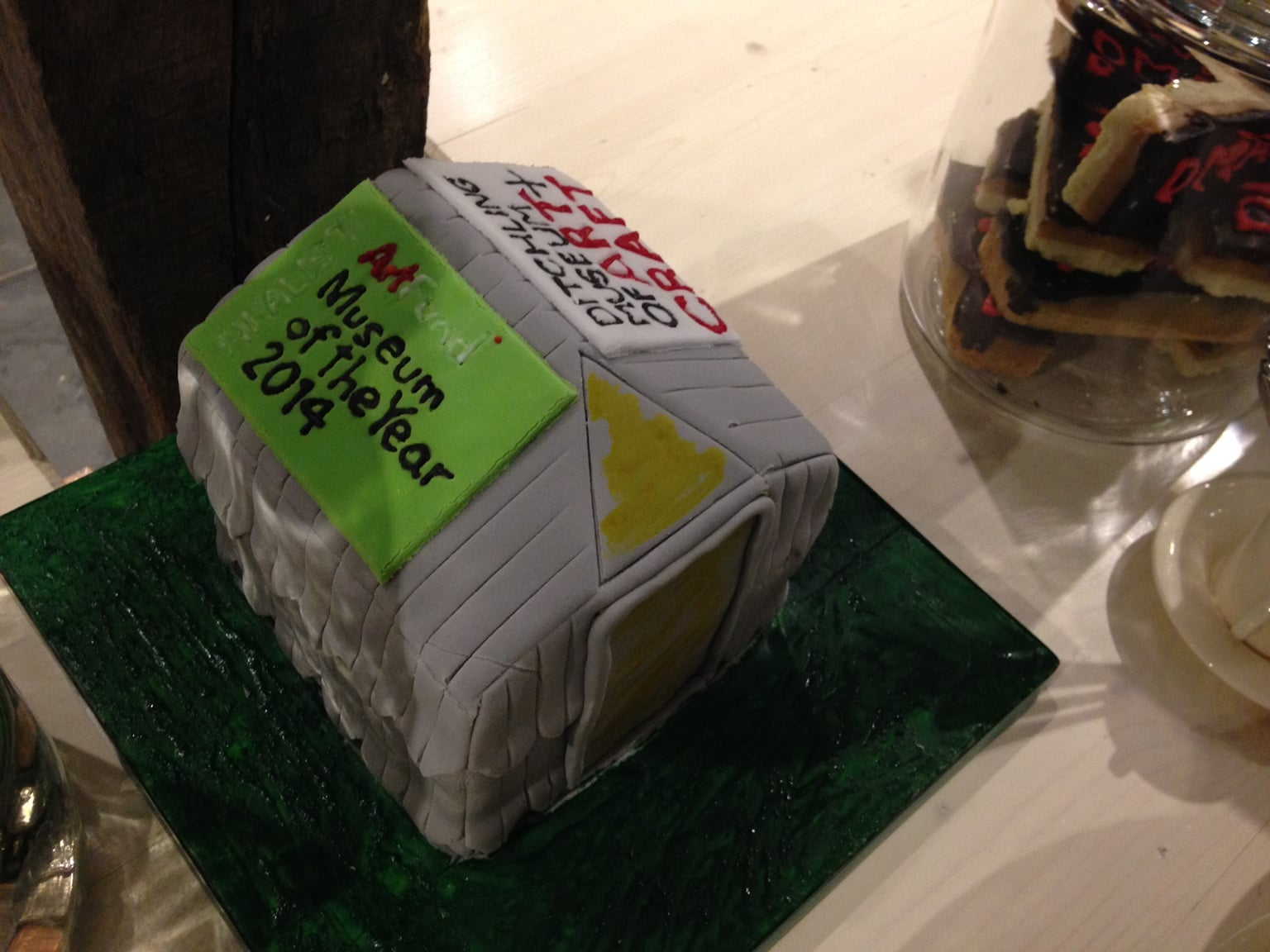 Museum of the Year cake -