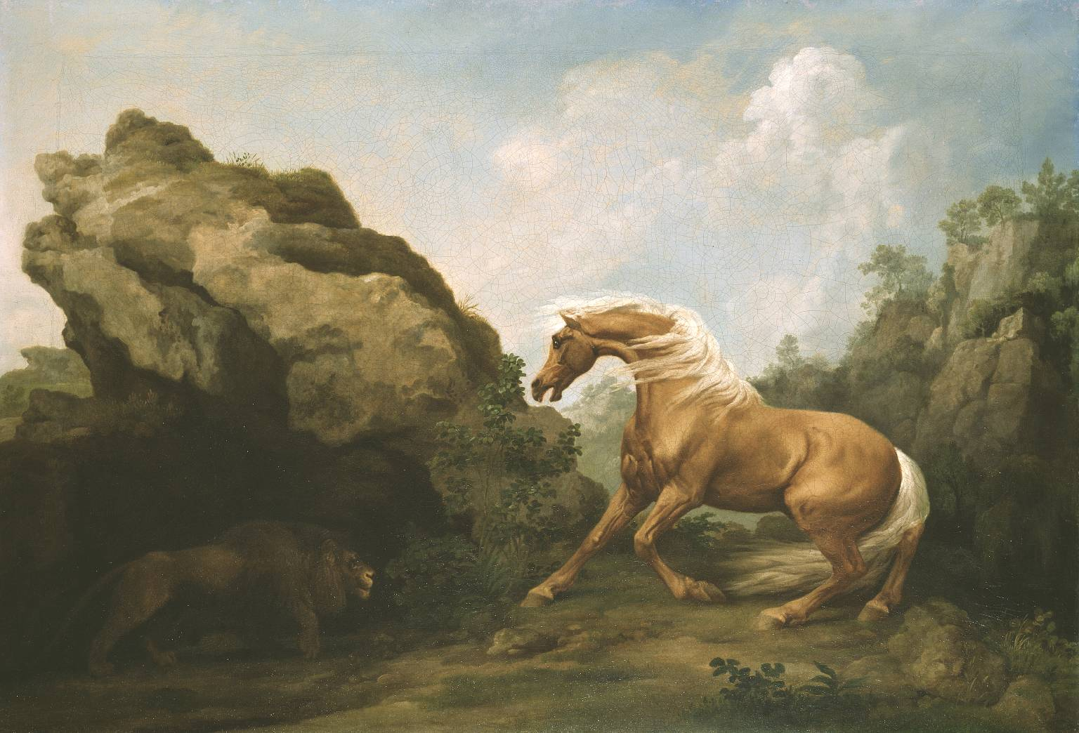 2. George Stubbs, Horse Frightened by a Lion, 1794 - Tate Britain, London
