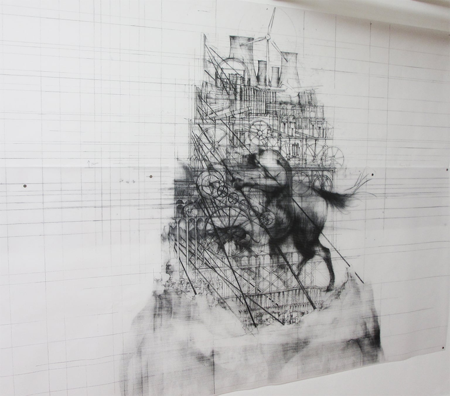 4. Minho Kwon, The Neo Tower of Babel (detail), 2013 - Courtesy the artist