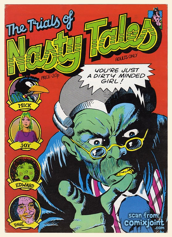 1. The Trials of Nasty Tales, 1972 -