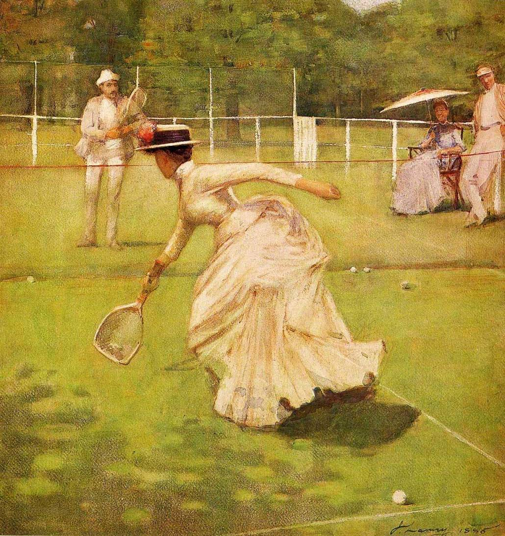 2. John Lavery, A Rally, 1885 - Glasgow Museums