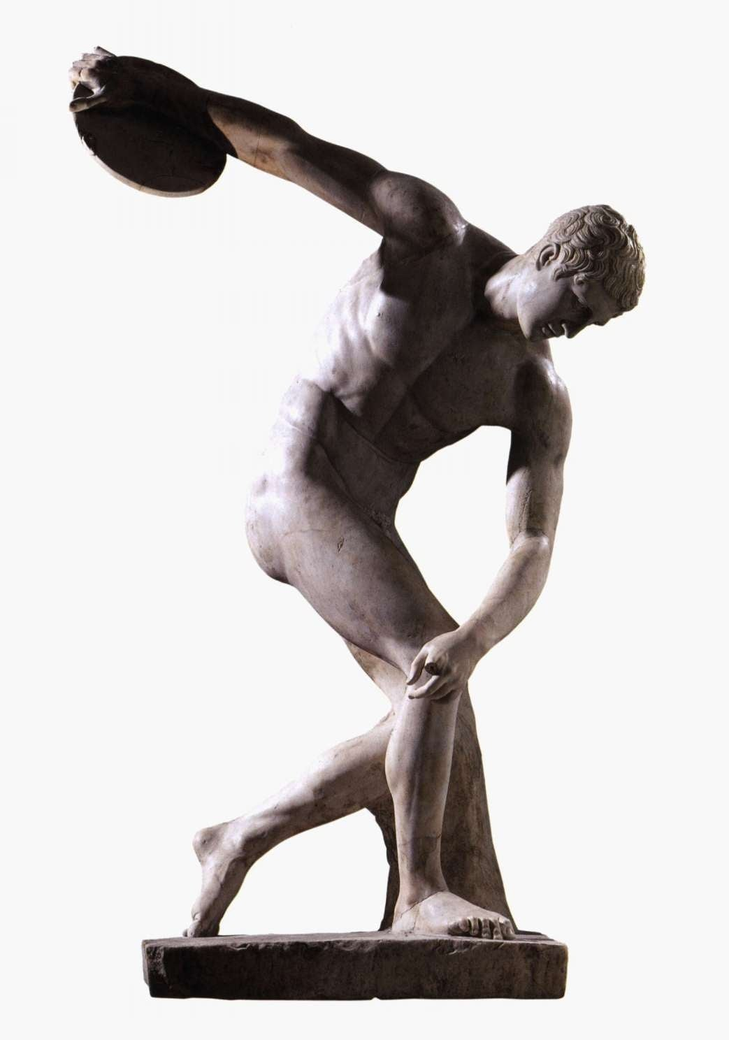 3. Copy of Myron (attributed), Discus Thrower, 5th century BC - British Museum, London