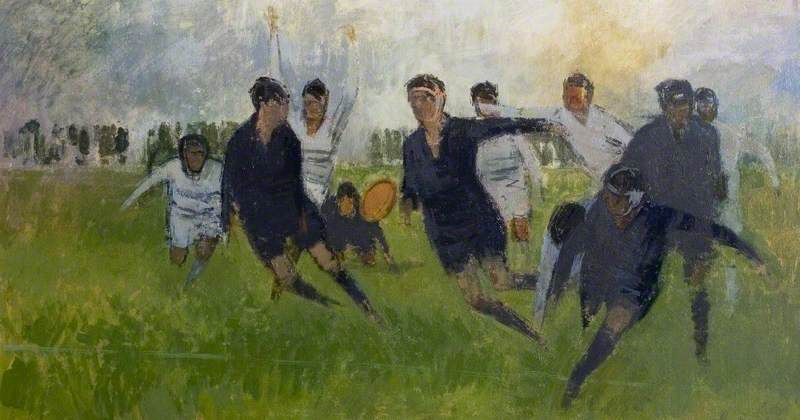 5. Lawrence Toynbee, Close Passing Among the Forwards, 1961 - Herbert Art Gallery, Coventry