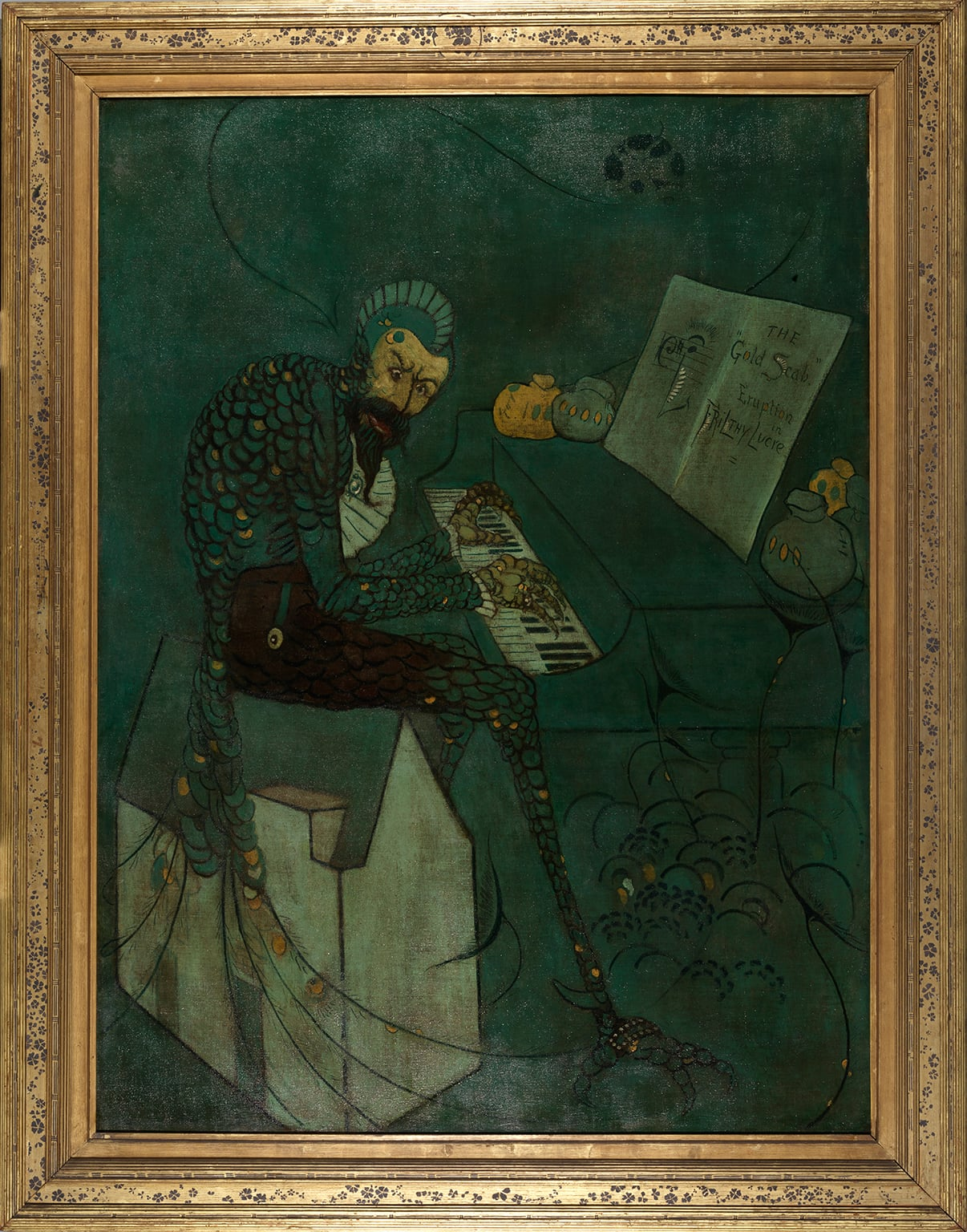 The Gold Scab by James McNeill Whistler, 1879 - Liverpool Biennial