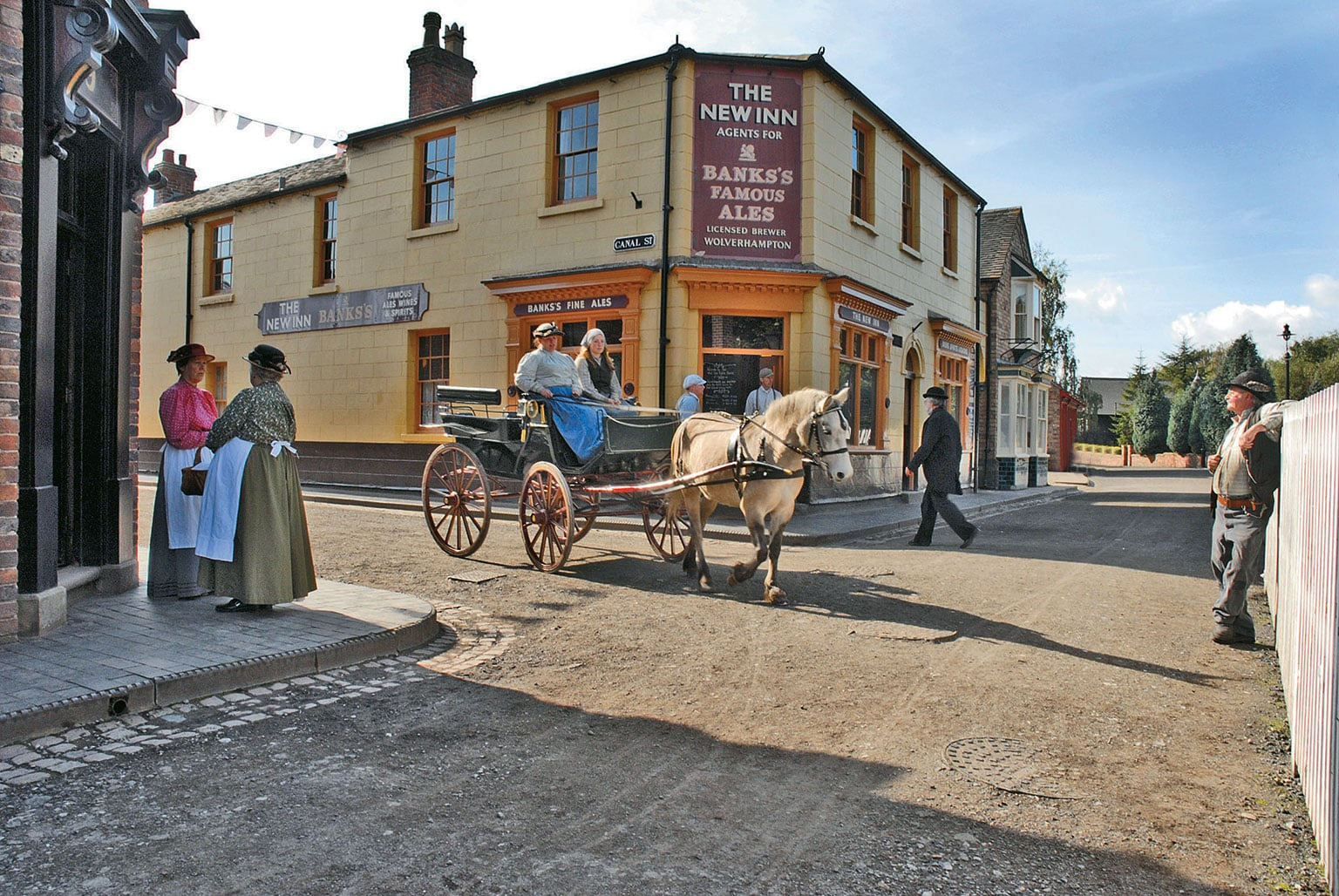 3. Blists Hill Victorian Town, Shropshire (part of Ironbridge Gorge Museum) - Free entry with National Art Pass