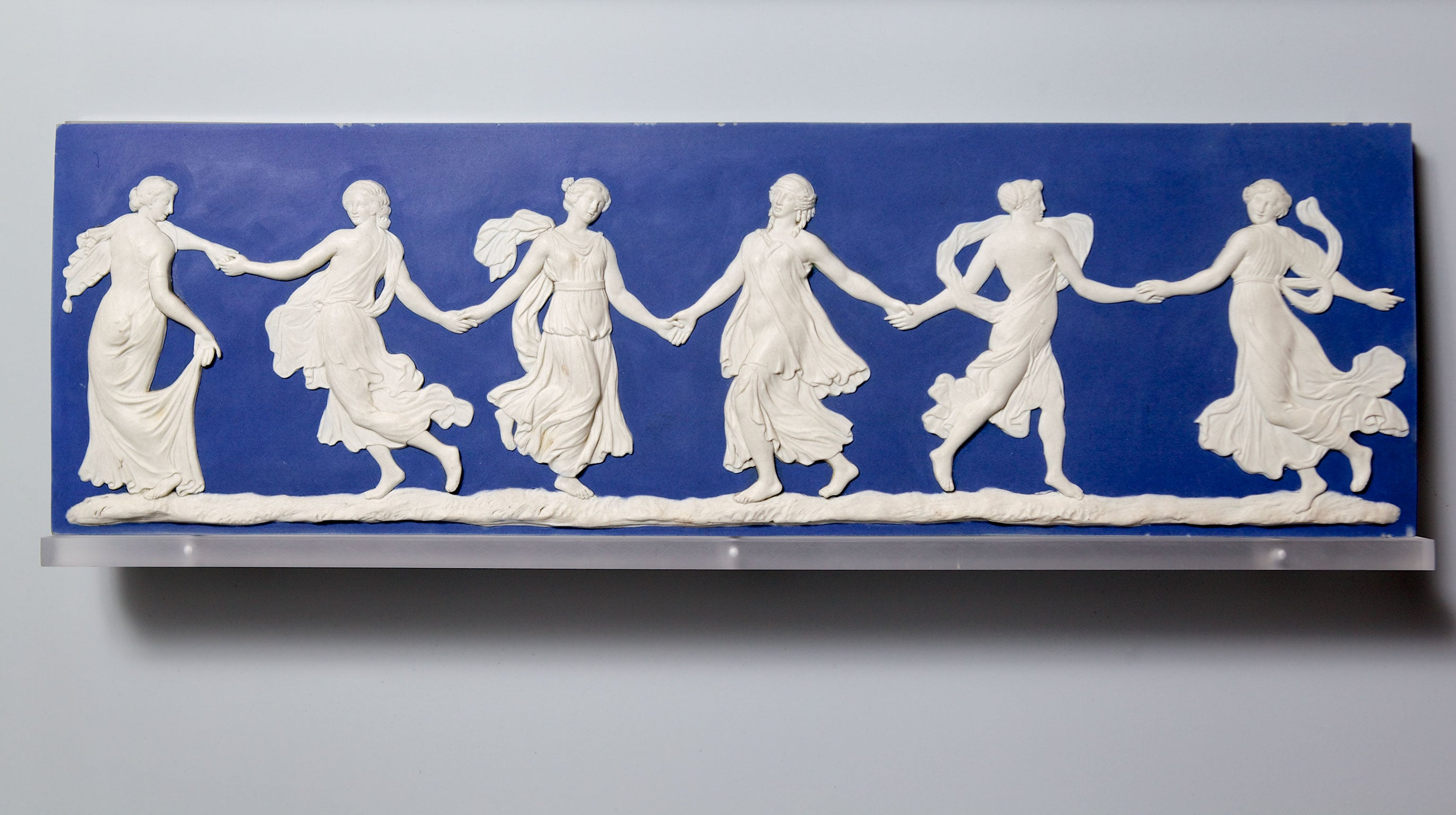 2. Dancing Hours, c.1770 - Courtesy The Wedgwood Museum. Photo: © Phil Sayer