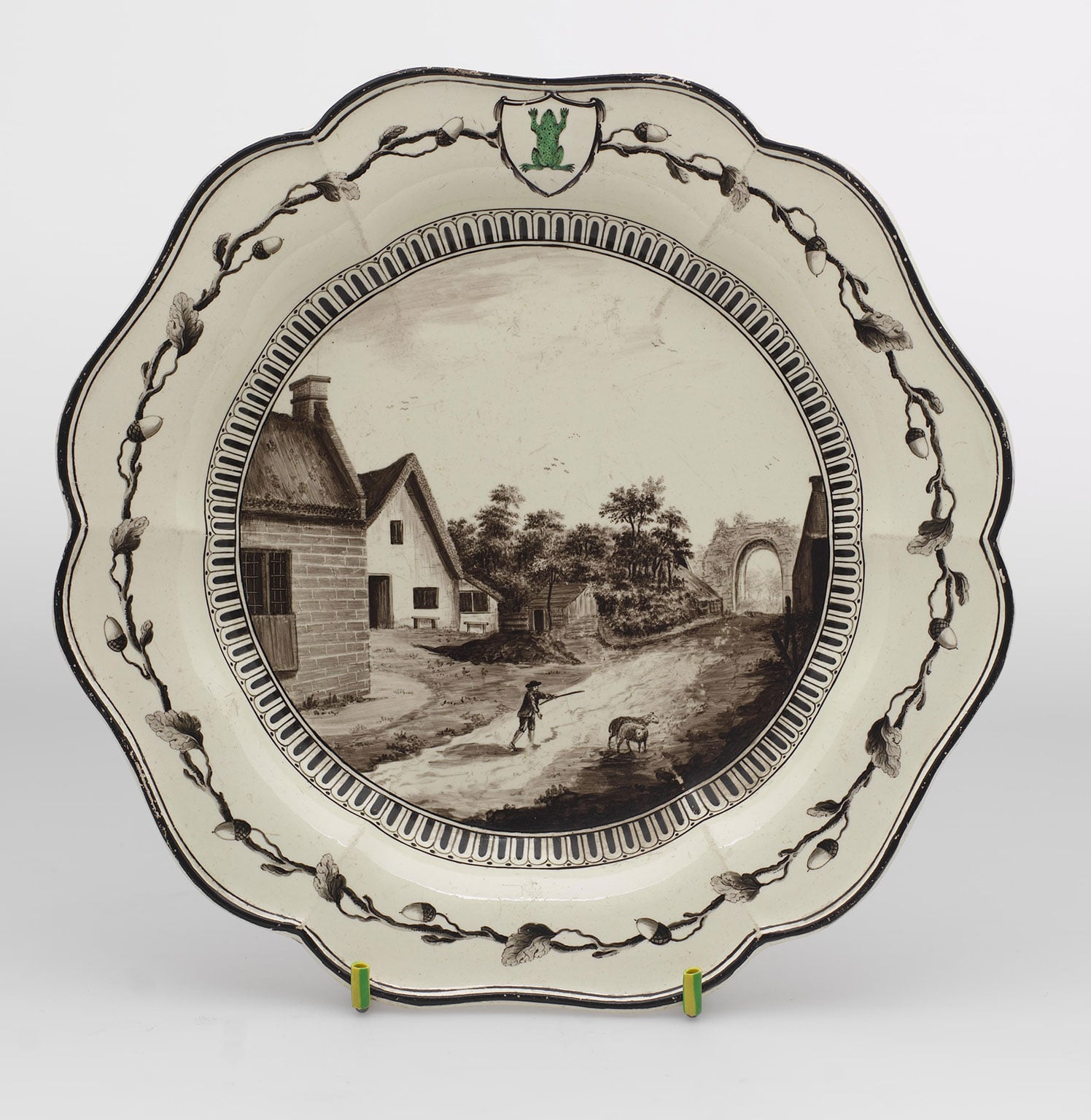3. Pieces from the Green Frog Service, 1773 - Courtesy The Wedgwood Museum