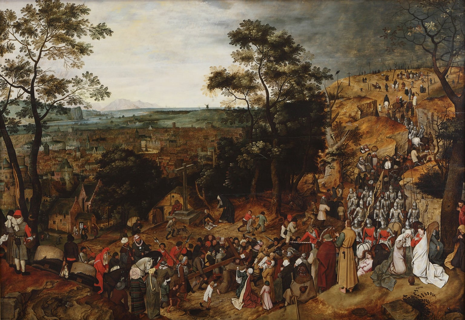3. Pieter Brueghel the Younger, The Procession to Calvary, 1602 - Nostell Priory, West Yorkshire