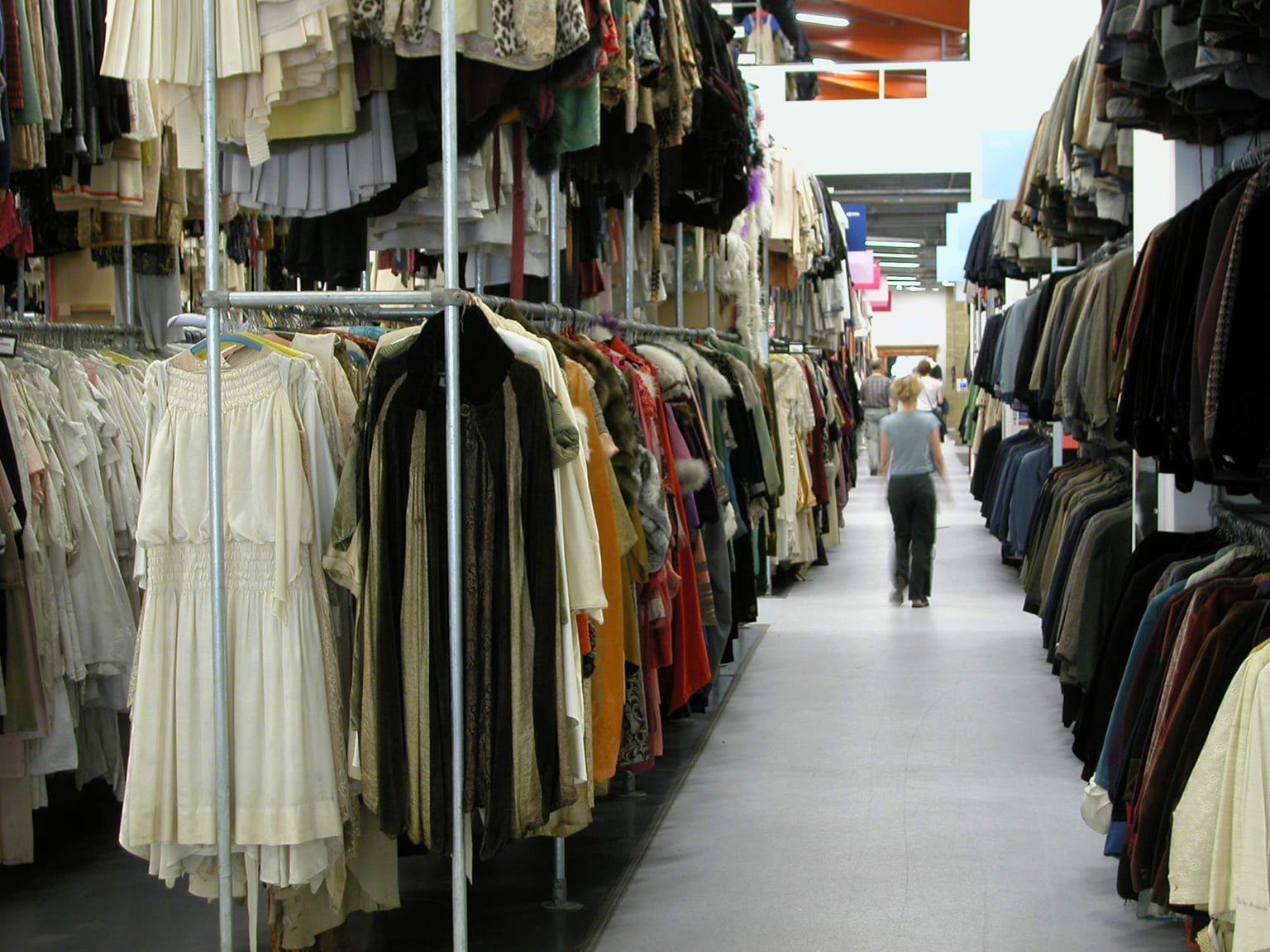 Angels the Costumiers warehouse in north London -