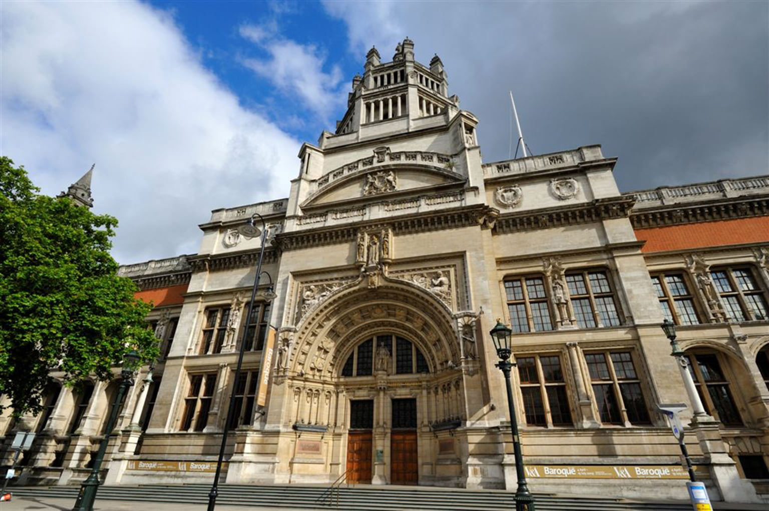 The V and A -