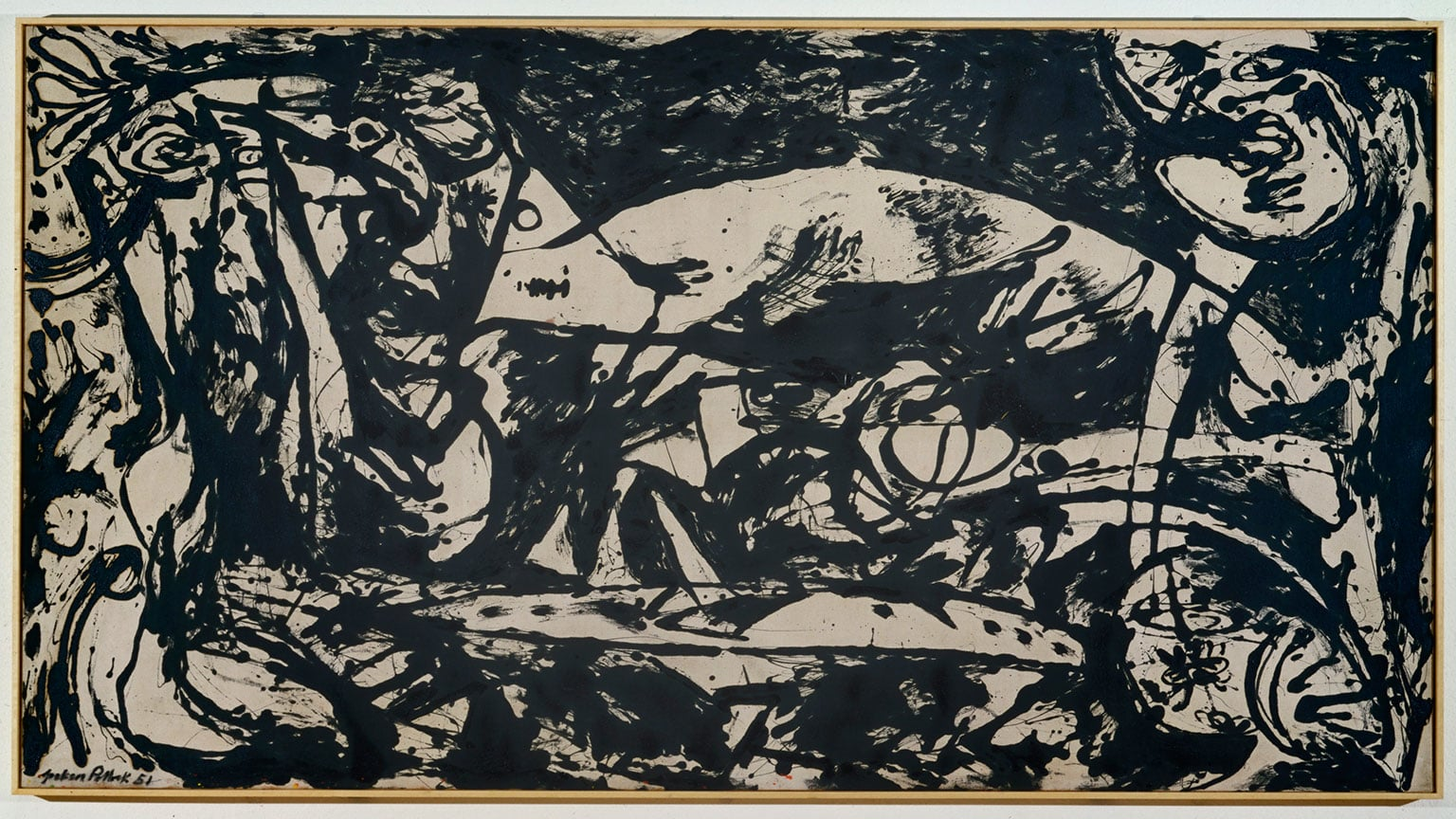 1. Jackson Pollock: Blind Spots, Tate Liverpool, 50% off with National Art Pass - Jackson Pollock, Number 14, 1951 © The Pollock-Krasner Foundation ARS, NY and DACS, London 2015