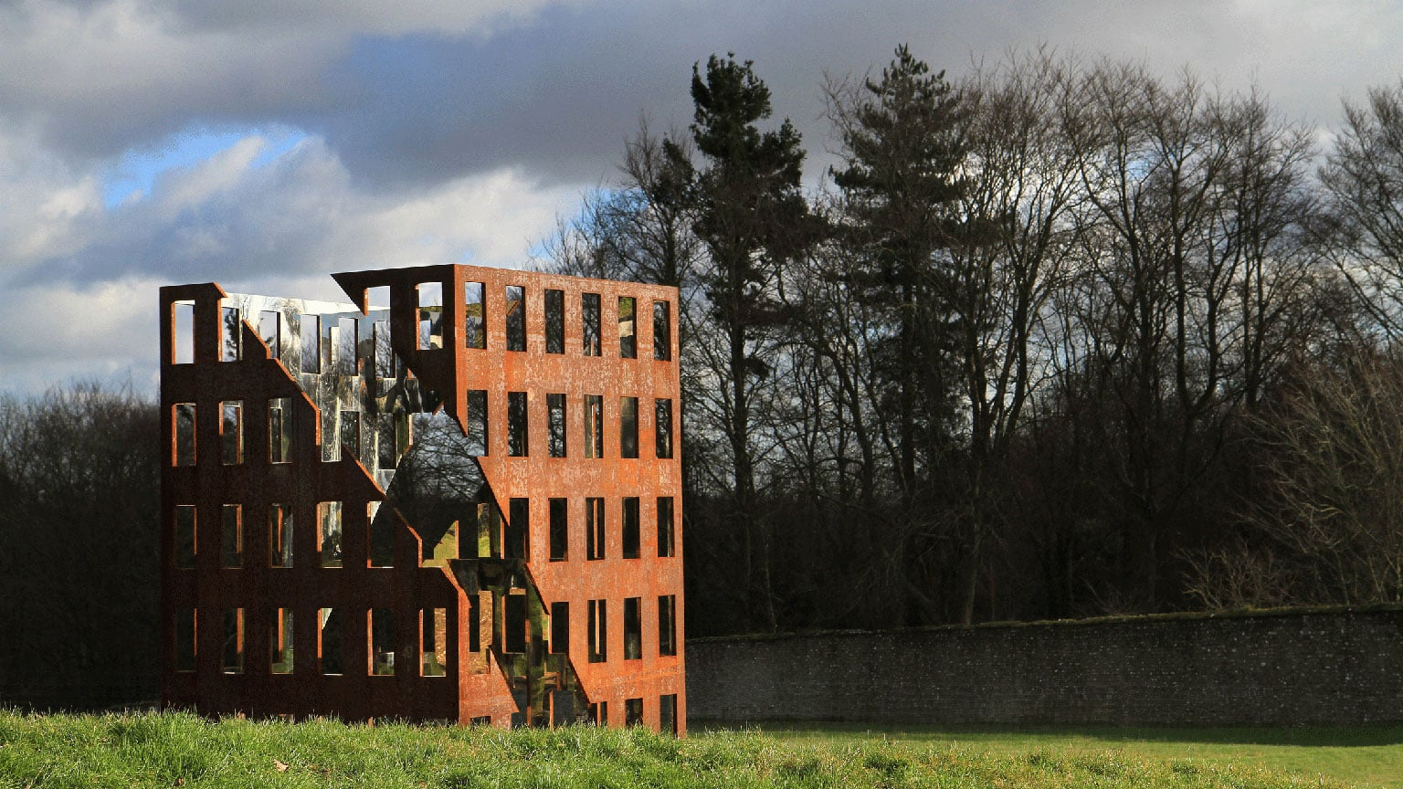 3. The Cass Sculpture Foundation, West Sussex - 50% off entry with National Art Pass. Above: 'X' by Viktor Timofeev.