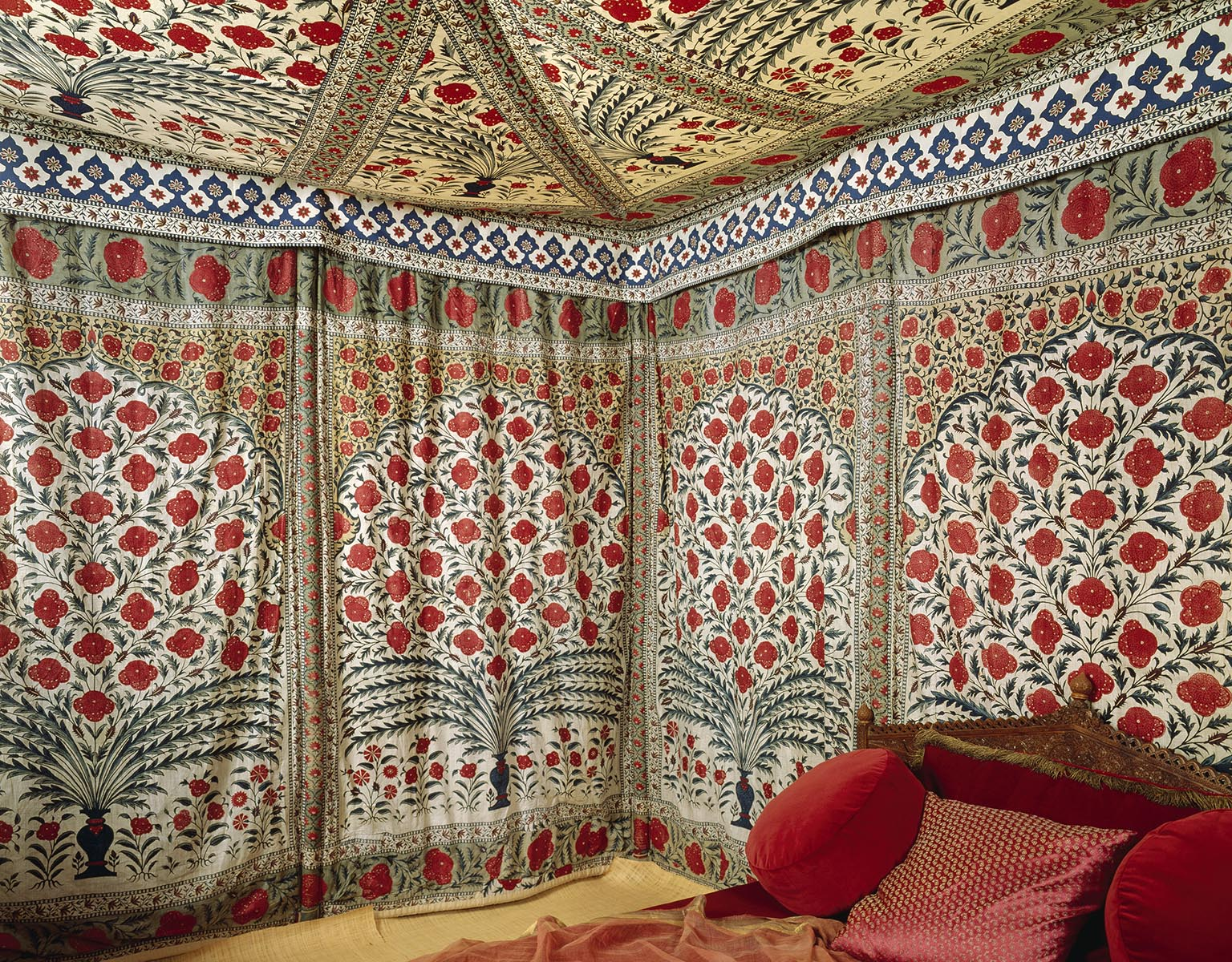3. The Fabric of India, Victoria and Albert Museum. 50% off with National Art Pass - Tipu's Tent, 1725-1750. National Trust Images
