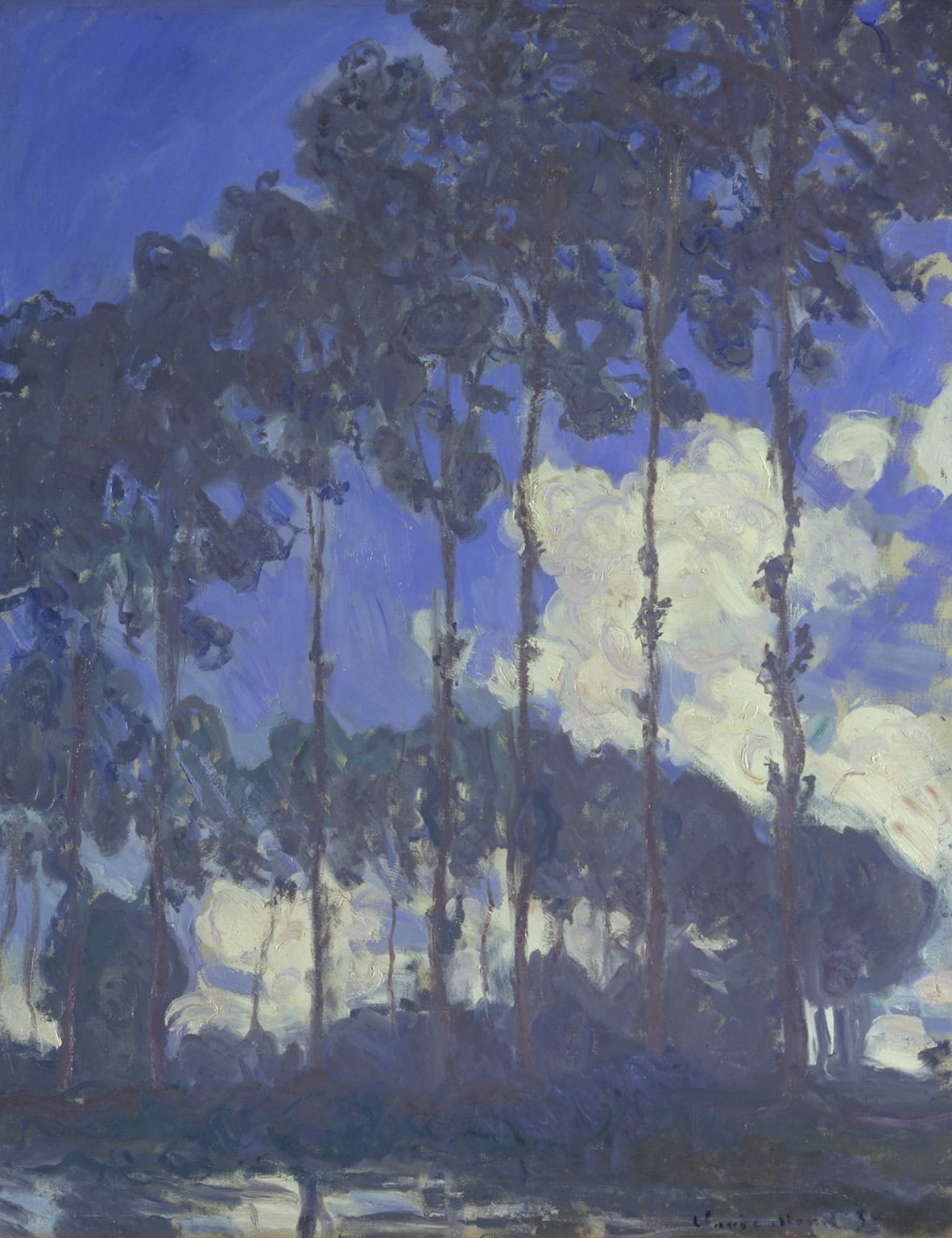 3. Poplars on the Epte, 1891, National Gallery - © National Gallery