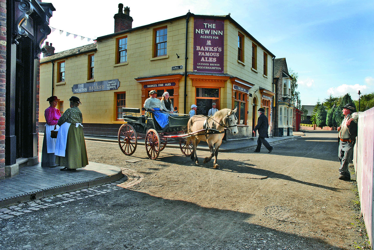 5. Blists Hill Victorian Town, Shropshire. Free with National Art Pass - Ironbridge Gorge Museum Trust