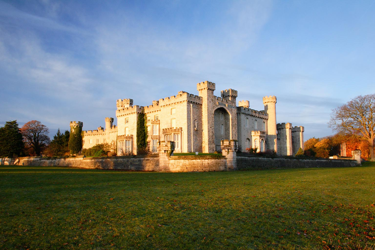 2. Bodelwyddan Castle and Park, Denbighshire, Free entry with National Art Pass -