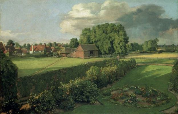 1. John Constable, Golding Constable's Flower Garden, 1815 (Art Funded in 1955). Christchurch Mansion, Suffolk - © Ipswich Borough Council (Colchester and Ipswich Museums Service)
